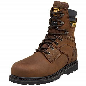 Caterpillar Salvo Waterproof Steel Toe Boot Review