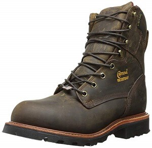 Chippewa Men's 8 Inch Bay Apache Steel Toe Rugged Boot