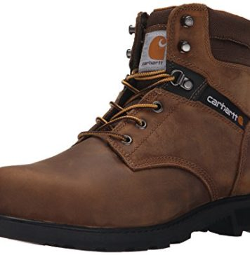 Carhartt Men's 6 Work Safety Toe NWP-M, Crazy Horse Brown Oil Tanned, 10 M US