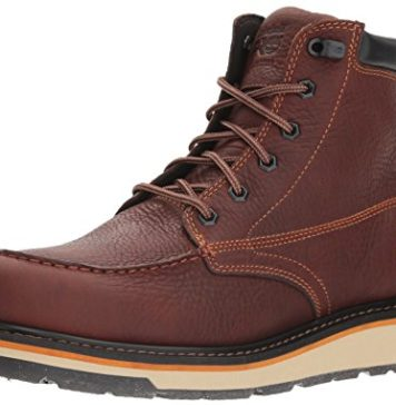 Timberland PRO Men's Gridworks Moc Soft Toe Waterproof Industrial Boot, Brown, 12 M US