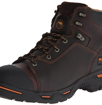 """Timberland PRO Men's 52562 Endurance 6"""" Puncture Resistant Work Boot,Brown,10.5 M"""