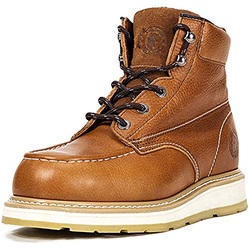 45fa266fea3 ROCKROOSTER Men's Work Boots, Composite Toe, Safety Water Resistant ...