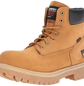 "Timberland PRO Direct Attach 6"" Steel Toe Work Boot Mens Wheat Size 10.5"