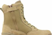 Maelstrom Men's TAC FORCE 8 Inch Military Tactical Duty Work Boot with Zipper, Tan, 10.5 W US