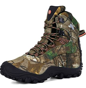 XPETI Men's Thermator Mid-Rise Waterproof Hiking Boot Hunting Trekking Work Outdoor Boots Camouflage 12