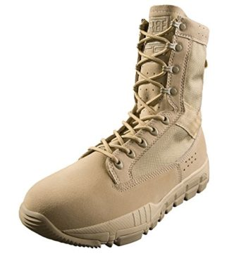 FREE SOLDIER Men's Outdoor Ultralight Breathable Desert Boots Military Tactical Duty Work Boot Hiking Hunting Boots (Desert Tan 9)