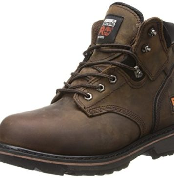 "Timberland PRO Men's Pitboss 6"" Steel-Toe Boot, Brown , 10 D - Medium"