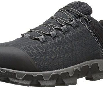 Timberland PRO Men's Powertrain Sport Alloy Toe EH Industrial & Construction Shoe, Black Synthetic, 10.5 M US