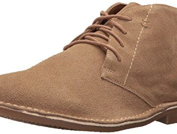 Nunn Bush Men's Galloway Chukka Boot, Beige Suede, 10