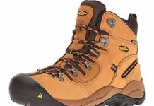 "KEEN Utility Men's Pittsburgh 6"" Steel Toe Waterproof Work Boot"