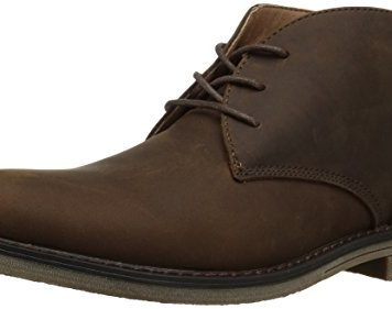 Nunn Bush Men's Lancaster Plain Toe Chukka Boot, Brown, 10 Medium