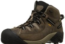 KEEN Men's Targhee II Mid Waterproof Hiking Boot,Shitake/Brindle,10 M US