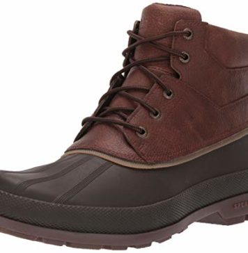 Sperry Mens Cold Bay Chukka Boots, Brown/Coffee, 9.5