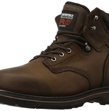 "Timberland PRO Men's Pitboss 6"" Soft-Toe Boot,Brown,10.5 W"
