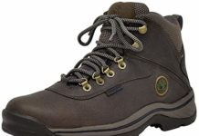 Timberland Men's White Ledge Mid Waterproof Boot,Dark Brown,9 M US
