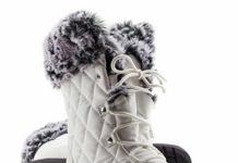 ArcticShield Women's Warm Waterproof Insulated Comfortable Memory Foam Fur Winter Snow Boots (9 D(M) US Women's, Snow White)