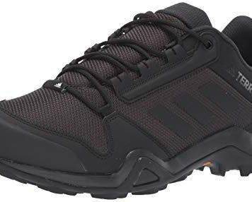 adidas outdoor Men's Terrex AX3 Hiking Boot, Black/Black/Carbon, 12 M US
