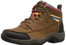 Ariat Women's Terrain Work Boot, Walnut/Serape, 8 B US