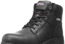 Skechers for Work Men's Workshire Relaxed Fit Work Steel Toe Boot,Black,11.5 M US