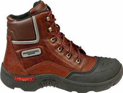 LawnGrips Men's Brutus Steel Toe Lace Up Work Boot
