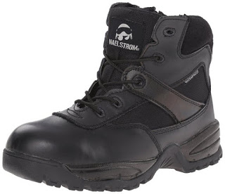 "Maelstrom Patrol 6"" Waterproof Composite Toe Work Boots With Zipper"