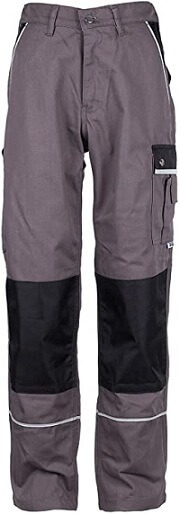 TMG Heavy Duty Cargo Work Trousers with Knee Pads Pockets