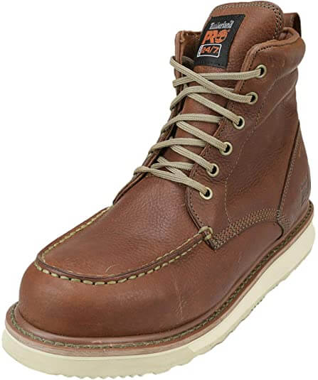 Timberland PRO Men's Wedge Sole Six-Inch Soft Toe Boot