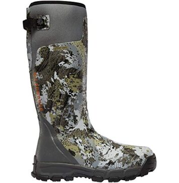 "LaCrosse Men's 376035 Alphaburly Pro 18"" 800G Waterproof Hunting Boot, Optifade Elevated II - 12 M"