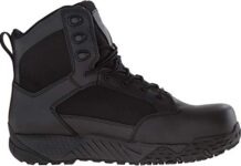 Under Armour Men's Stellar Protect Military and Tactical Boot, Black (001)/Black, 10.5