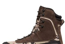 Under Armour Men's Browe 2.0 400G Ankle Boot, Ridge Reaper Camo Ba (901)/Maverick Brown, 10