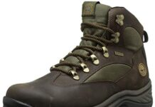 Timberland mens Chocorua Trail Mid Waterproof Snow Shoe, Brown/Green, 9.5 US