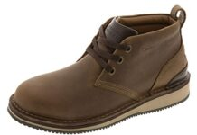 Rockport mens Prestige Point Work Safety Toe Lace-up Chukka industrial and construction boots, Brown, 10.5 US
